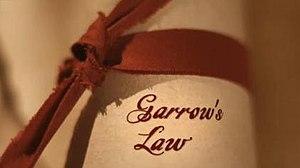 Garrow's Law - Image: Garrow' Law title screenshot