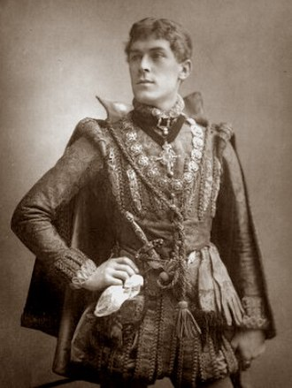 George Alexander (actor) - As Bassanio in The Merchant of Venice, 1885