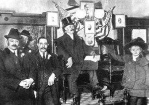 George W. Plunkitt - George Washington Plunkitt, center