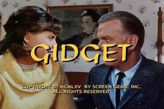 Gidget (TV series) - Original title screen