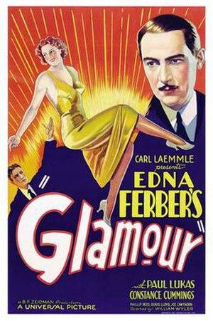 Glamour (1934 film) - Film poster