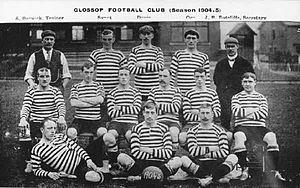 Glossop North End A.F.C. - Glossop team of 1904–05