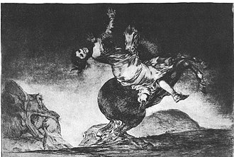 Ape and Essence - An etching by Goya described in Tallis