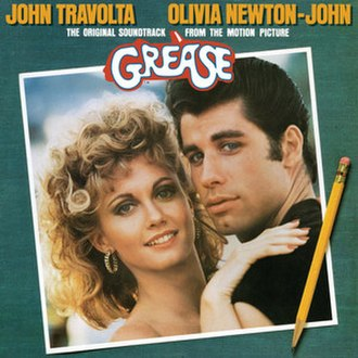 Grease: The Original Soundtrack from the Motion Picture - Image: Grease OST