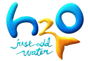 Title logo for the television series H 2 O: Ju...