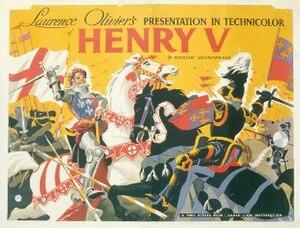Henry V (1944 film) - Image: Henry V – 1944 UK film poster