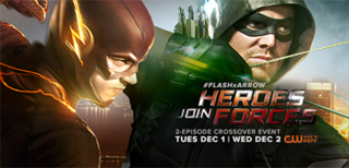 Heroes Join Forces Two-part crossover between the series Arrow and The Flash