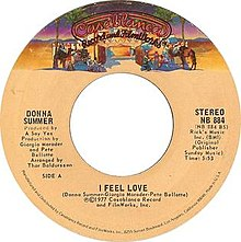 I Feel Love by Donna Summer US vinyl A-side 1977 reissue.jpg
