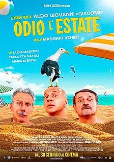 <i>I Hate Summer</i> 2020 film by Massimo Venier