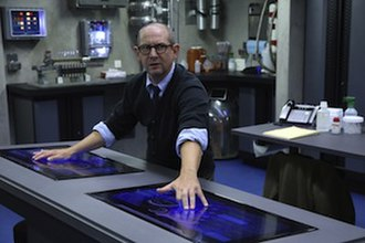 Graviton (comics) - Ian Hart as Dr. Franklin Hall as seen in Agents of S.H.I.E.L.D..