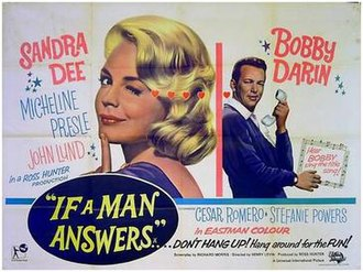If a Man Answers - Image: If A Man Answers (1962, Movie Poster)