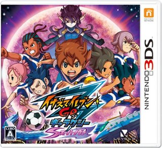 <i>Inazuma Eleven GO: Galaxy</i> 2013 video game for the Nintendo 3DS