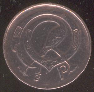 Halfpenny (Irish decimal coin) - Image: Irish halfpenny (decimal coin)