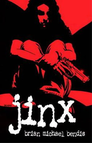 Jinx (Image Comics) - Paperback cover of the Image series (1997)