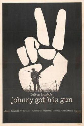 Johnny Got His Gun (film) - Original theatrical poster