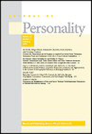 Journal of Personality - Image: Journal of Personality.cover