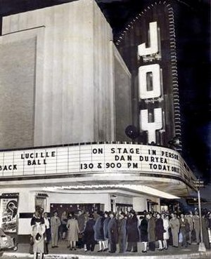 Joy Theater - Image: Joy Theater (New Orleans) Grand Opening 1947