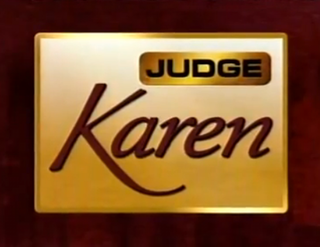 <i>Judge Karen</i>