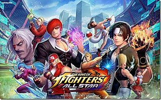 <i>The King of Fighters All Star</i>