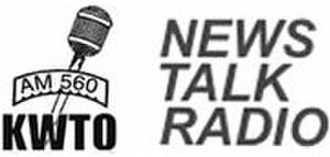 KWTO (AM) - Image: KWTO AM560News Talk Radio logo