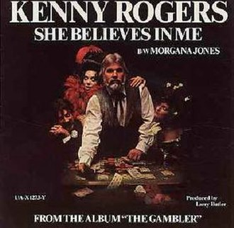 She Believes in Me - Image: Kenny Rogers She Believes in Me single