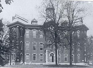 Theodore Roosevelt High School (Kent, Ohio) - The Union School building, later known as Central School