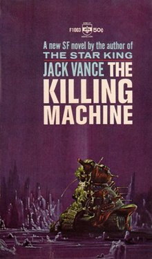 Killing Machine (Jack Vance) 1st edition.jpg