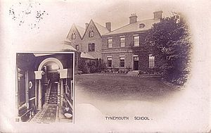 Kings Priory School - Postcard showing the headmaster's house, c. 1910