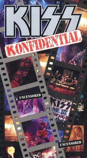 Kiss Konfidential - Image: Kiss Konfidential cover