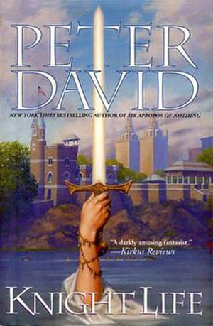 Knight Life - Cover to the 2002 version of the novel.
