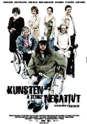 The Art of Negative Thinking - Poster and cover art of the film