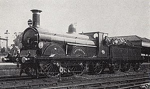 LB&SCR B1 class - No. 173 Cottesloe at East Croydon in 1895