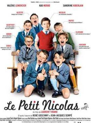 Little Nicholas - French theatrical release poster