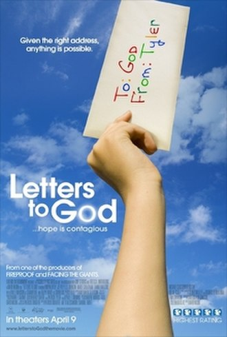 Letters to God - Theatrical release poster