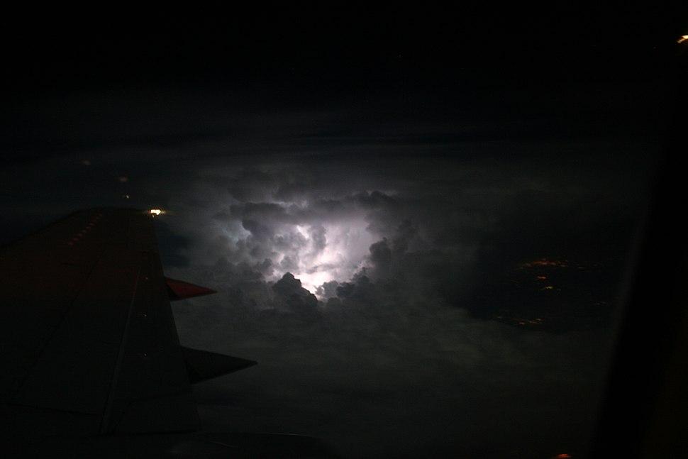 LightningAboveCloudsView