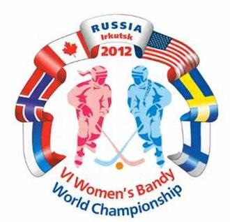 2012 Women's Bandy World Championship - Image: Logo 2012 women bandy wc