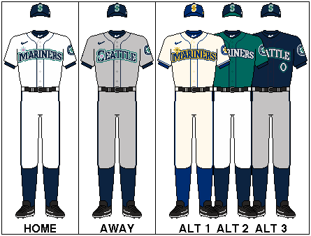 MLB-ALW-SEA-Uniform
