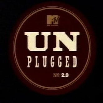 MTV Unplugged - The MTV Unplugged 2.0 logo used for the show's return in the 2000s.