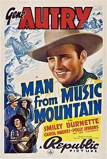 <i>The Man from Music Mountain</i> (1938 film) 1938 film by Joseph Kane, Betty Burbridge, Charles E. Ford