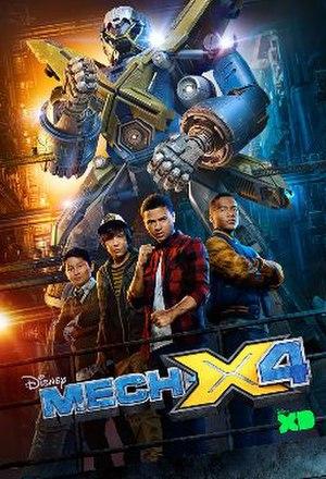 Mech-X4 - Image: Mech X4poster