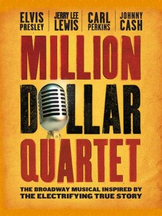 Million Dollar Quartet (musical) - Image: Million Dollar Quartet (musical)