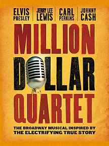 Million Dollar Quartet discount code for musical in Chicago, IL (Apollo Theater)