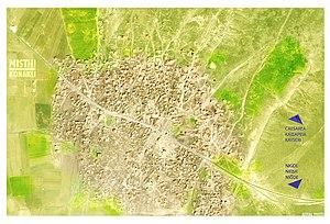 Misthi, Cappadocia - Aerial photo of Misthi / Konaklı today