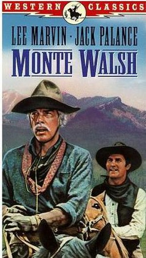 Monte Walsh (1970 film) - Image: Monte Walsh Video Cover