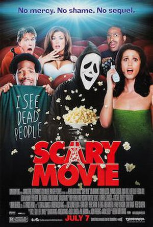 Scary Movie - Theatrical release poster