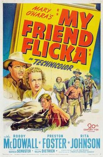 My Friend Flicka (film) - Image: My Friend Flicka Film Poster