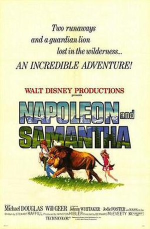 Napoleon and Samantha - Theatrical release poster