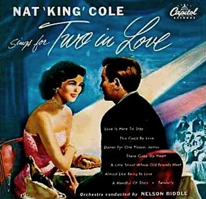 Nat King Cole Sings for Two in Love - Image: Nat King Cole Sings For Two In Love