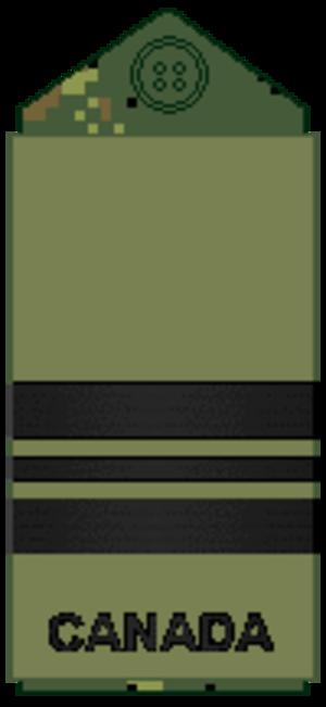 Lieutenant-commander (Canada) - Image: Navy olive L Cdr