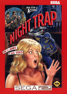 <i>Night Trap</i> 1992 video game